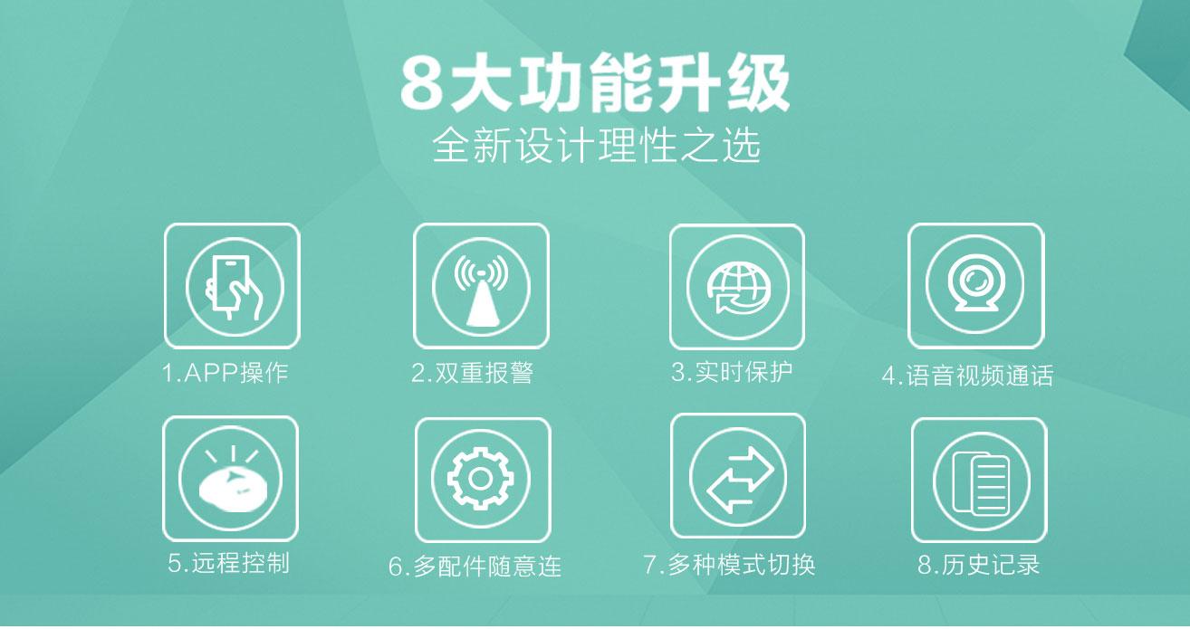 wifi报警器八大功能